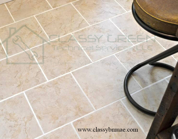 Tiles and Grout Cleaning Dubai; Floor Cleaning Services in Dubai UAE; Grout Cleaning Dubai; Grout Sealing Dubai; Tiles CLeaning Company in Dubai; Tiles Polishing; Floor Restoration Dubai; Grout Restoration Service Dubai; Deep Cleaning Services Dubai; Classy Green Dubai; Floor Cleaners in Dubai; Professional Tiles Cleaning Dubai