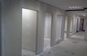 gypsum partition works in dubai uae