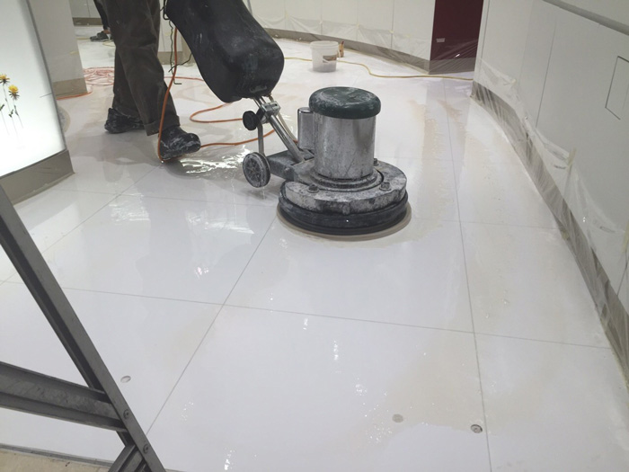 Marble Floor Polishing - Tiles Cleaning